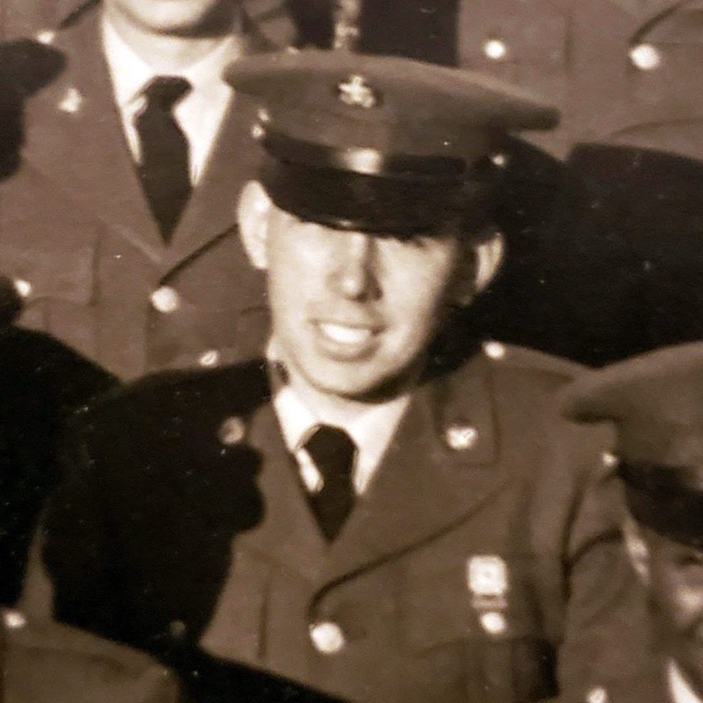 Manuel Amaral in uniform.