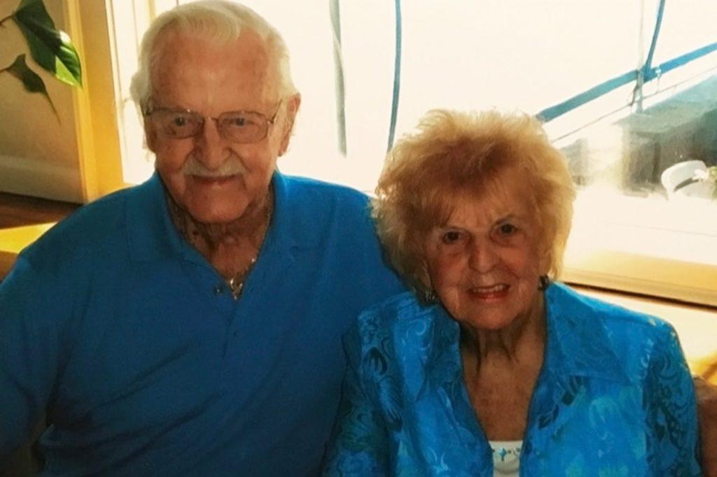 Arthur and Marjorie Alcock.
