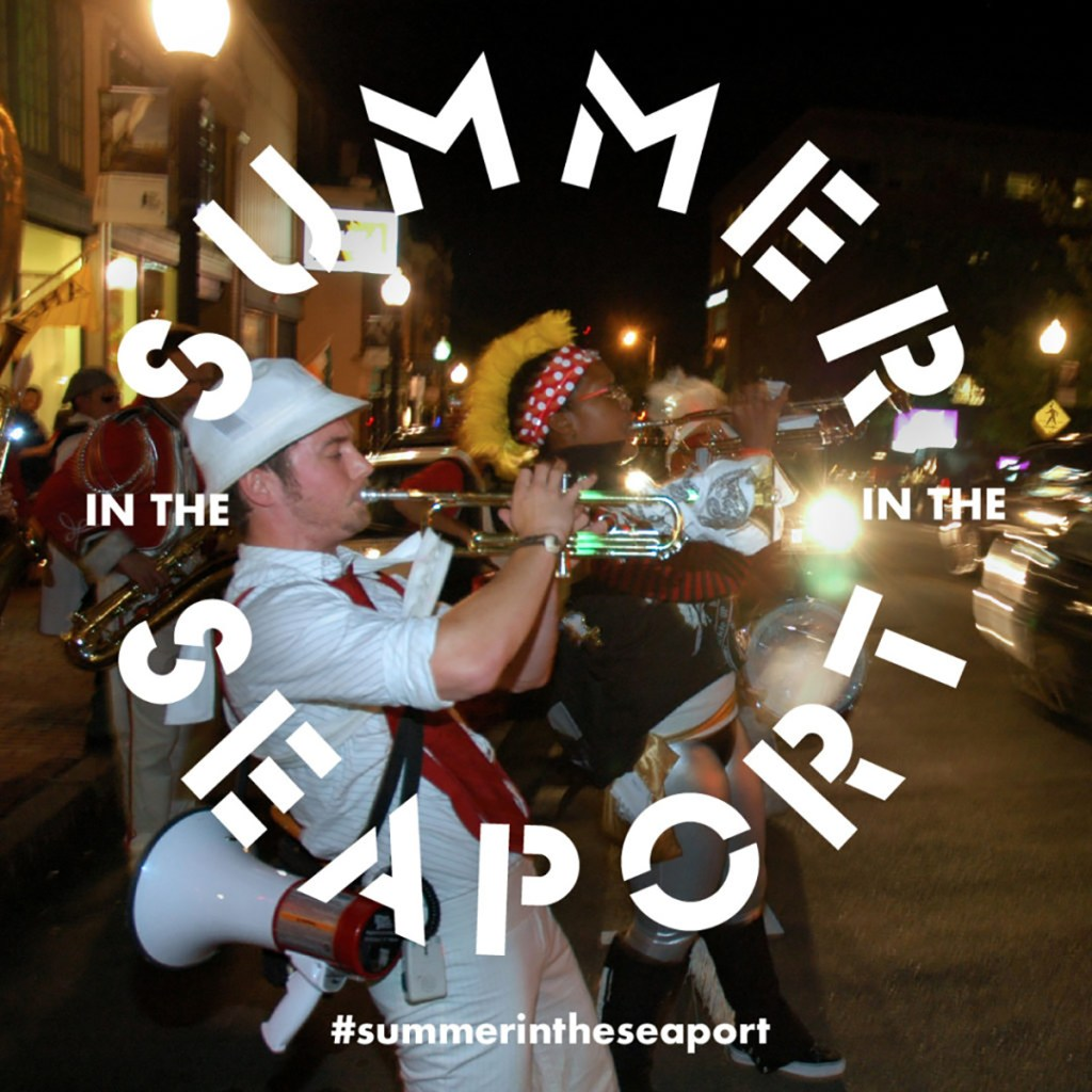 Summer in the Seaport logo.