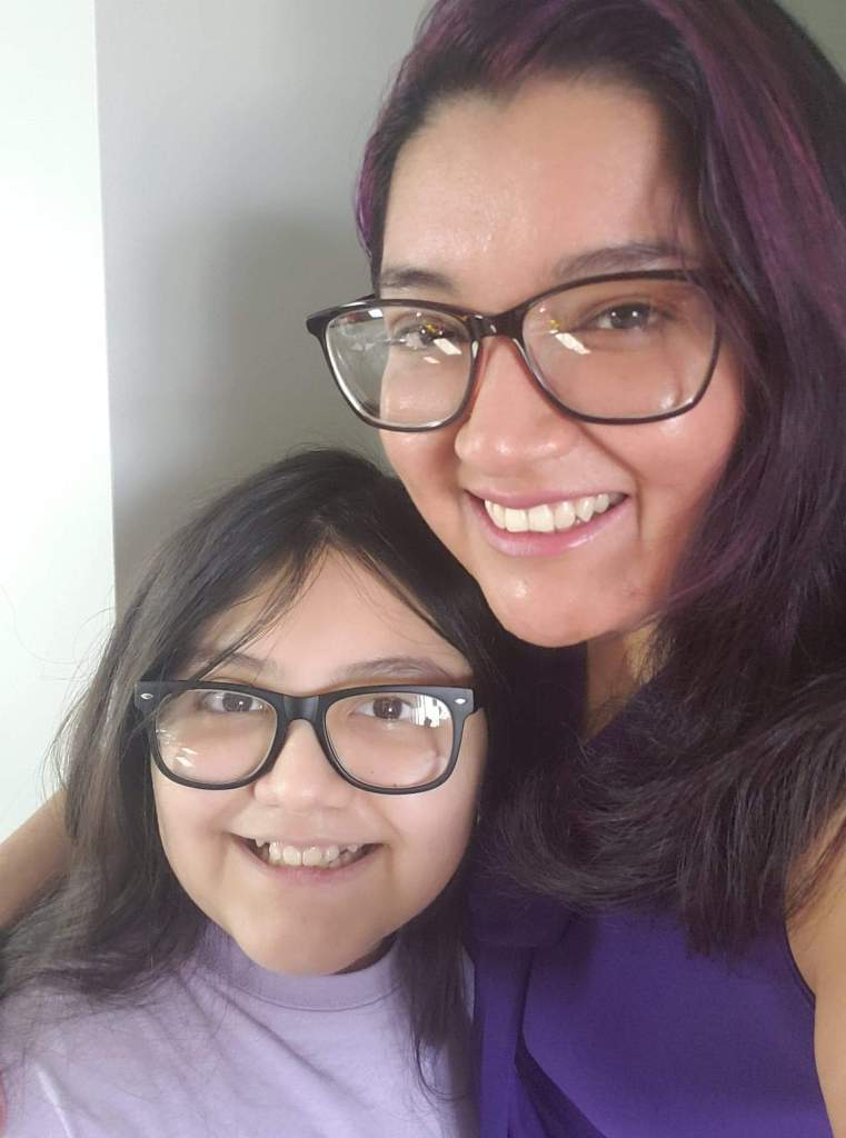 Denisse Pumagualle with daughter, Juslyn.