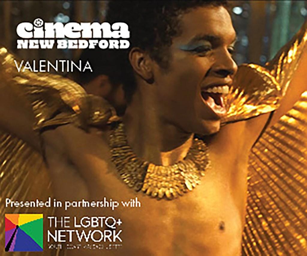 "Cinema New Bedford poster for ""Valentina."""