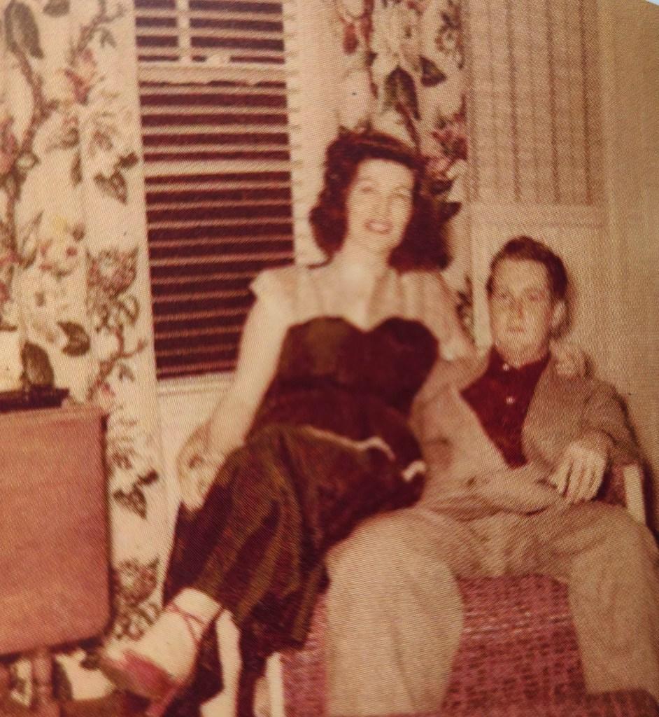 Marcelle Marie Lareau and her husband, Marcel P. Lareau.