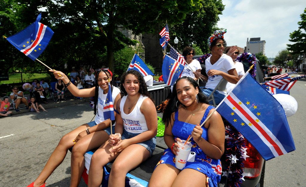 Cape Verdean Recognition Parade.