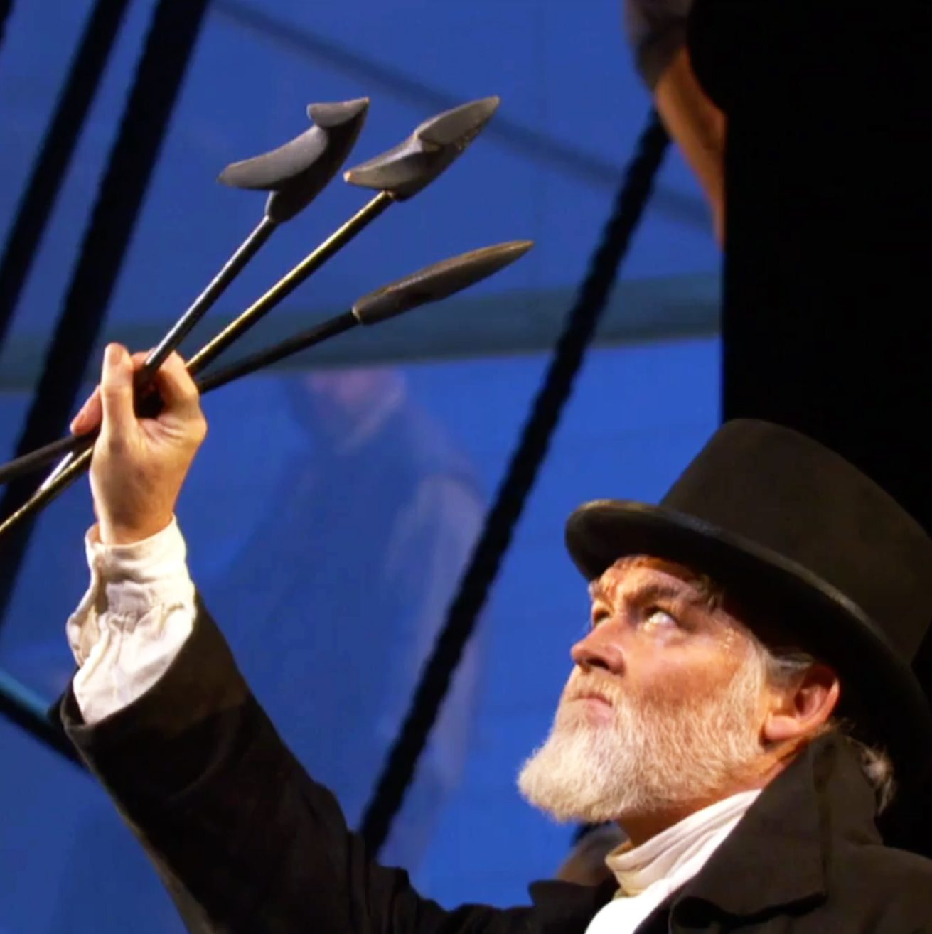 """Jay Hunter Morris plays Captain Ahab in the San Francisco Opera's """"Moby-Dick."""""""