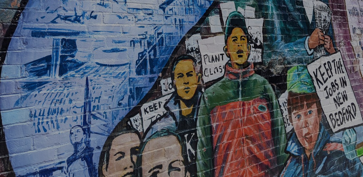 Labor History Mural.